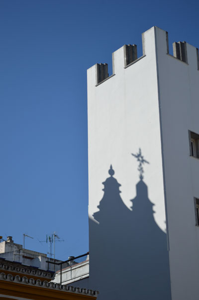 Shadow in Sevilla.